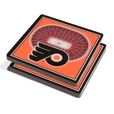 (YouTheFan Philadelphia Flyers 3D Stadium View Coaster)