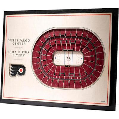 (YouTheFan Philadelphia Flyers 5Layer Stadium 3D Wall Art)