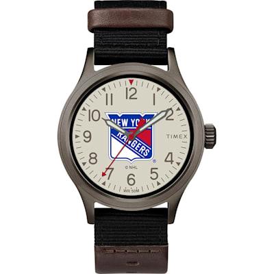 (NY Rangers Timex Clutch Watch - Adult)