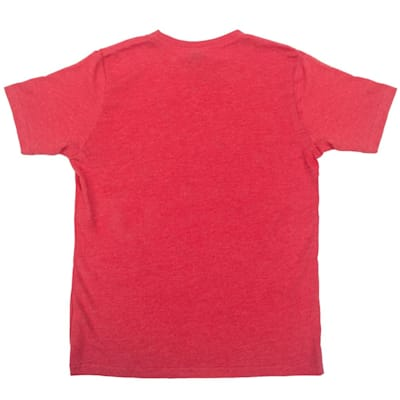 Back (Pure Hockey Classic Tee 2.0 - Red - Youth)