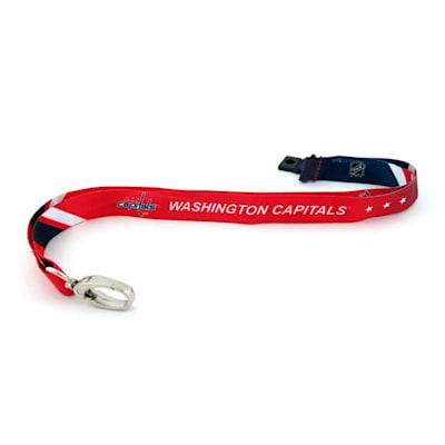 (Washington Capitals Sublimated Lanyard)