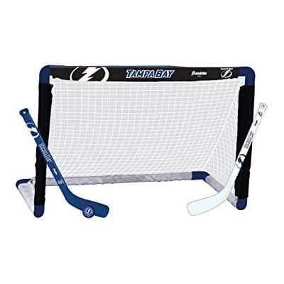 (Franklin NHL Team Mini Hockey Goal Set - Tampa Bay Lightning)