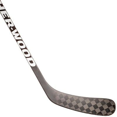 (Sher-Wood Rekker M Black Grip Composite Hockey Stick - Intermediate)