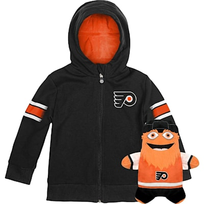 (Outerstuff Philadelphia Flyers Hoodie And Plush Animal - Infant)