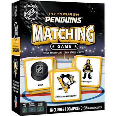 (MasterPieces Matching Game- Pittsburgh Penguins)