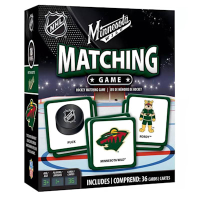 (MasterPieces Matching Game- Minnesota Wild)