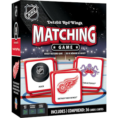 (MasterPieces Matching Game- Detroit Red Wings)