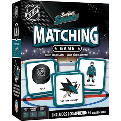 (MasterPieces Matching Game- San Jose Sharks)
