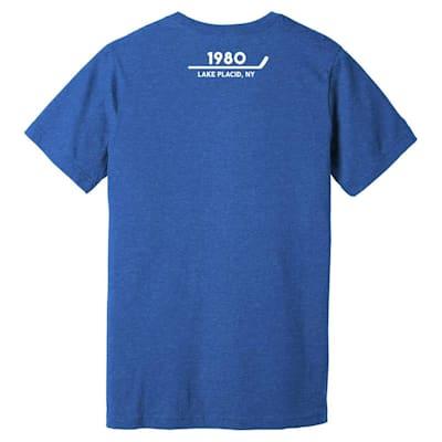 Back (Streaker Sports Herb Speech USA Miracle T-Shirt - Adult)