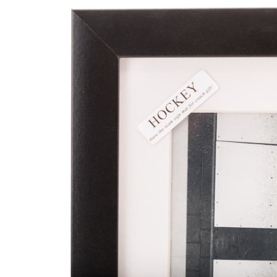 "(Painted Pastimes ""Hockey"" Matted Frame)"