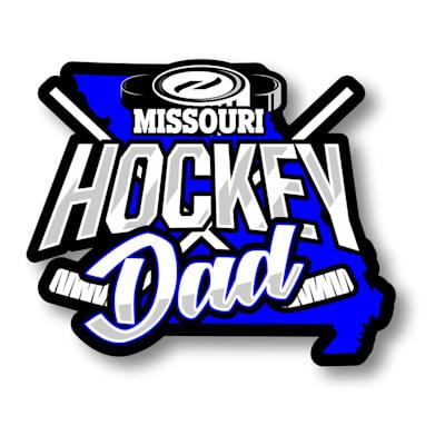 (Hockey Dad State Sticker)