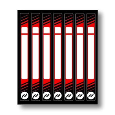 (Hockey Stick Name Sticker Kit)