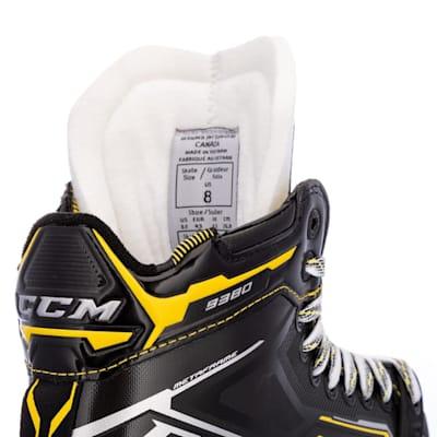 (CCM Super Tacks 9380 Ice Hockey Goalie Skates - Intermediate)