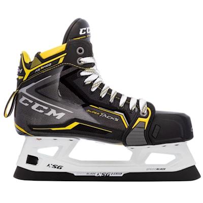 (CCM Super Tacks AS3 Pro Ice Hockey Goalie Skates - Intermediate)