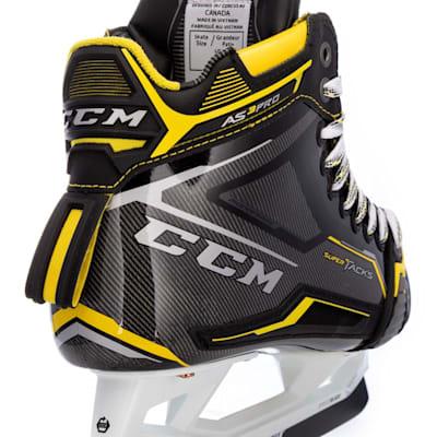 (CCM Super Tacks AS3 Pro Ice Hockey Goalie Skates - Senior)