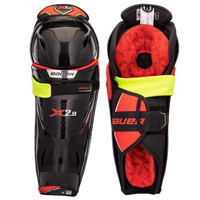 (Bauer Vapor X2.9 Hockey Shin Guards - Senior)