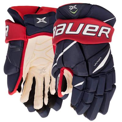 (Bauer Vapor 2X Hockey Gloves - Junior)