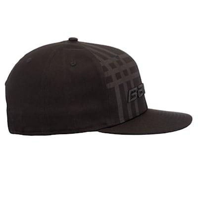 (Bauer New Era 9Fifty Plaid Adjustable Cap - Black - Adult)