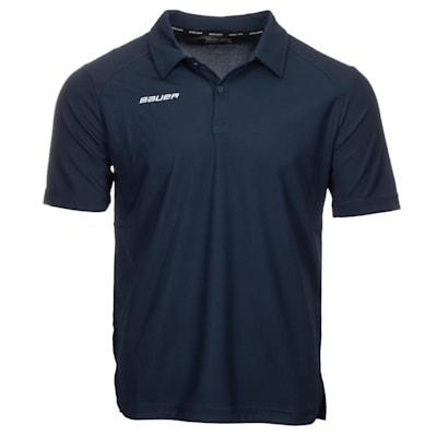 (Bauer Vapor Team Pique Polo Shirt - Youth)