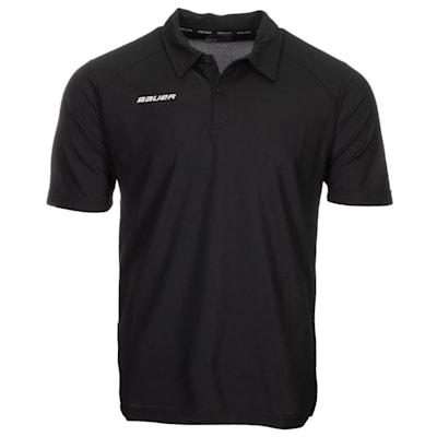 (Bauer Vapor Team Pique Polo Shirt - Adult)