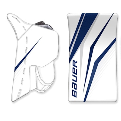 (Bauer Digi-Print Custom Supreme Ultrasonic Goalie Blocker - Senior)