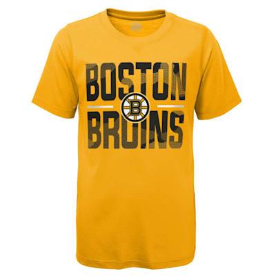 (Adidas Hustle Ultra Tee - Boston Bruins - Youth)