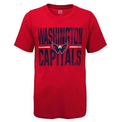 (Adidas Hustle Ultra Tee - Washington Capitals - Youth)