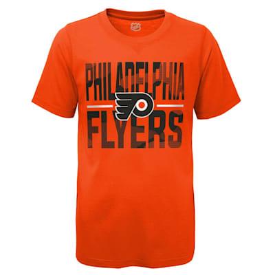 (Adidas Hustle Ultra Tee - Philadelphia Flyers - Youth)