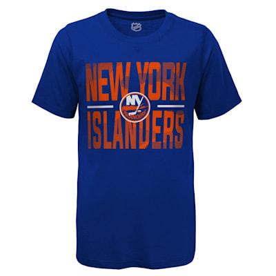 (Adidas Hustle Ultra Tee - New York Islanders - Youth)