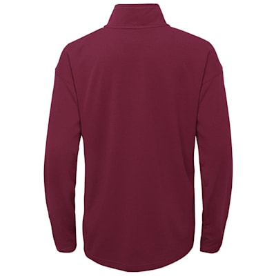 (Outerstuff Attacking Zone 1/4 Zip Performance Top - Colorado Avalanche - Youth)