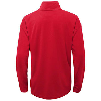 (Outerstuff Attacking Zone 1/4 Zip Performance Top - Washington Capitals - Youth)