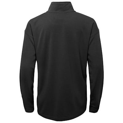 (Adidas Attacking Zone 1/4 Zip Performance Top - Pittsburgh Penguins - Youth)