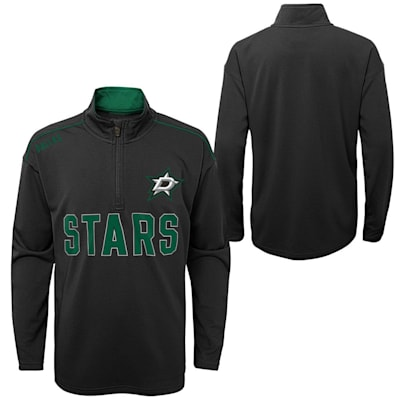 (Outerstuff Attacking Zone 1/4 Zip Performance Top - Dallas Stars - Youth)