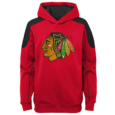 (Outerstuff Rocked Performance Pullover Hoodie – Chicago Blackhawks - Youth)