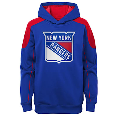(Adidas Rocked Performance Pullover Hoodie – New York Rangers - Youth)