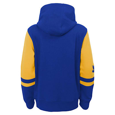 (Adidas Faceoff FZ Fleece Hoodie - St. Louis Blues - Youth)