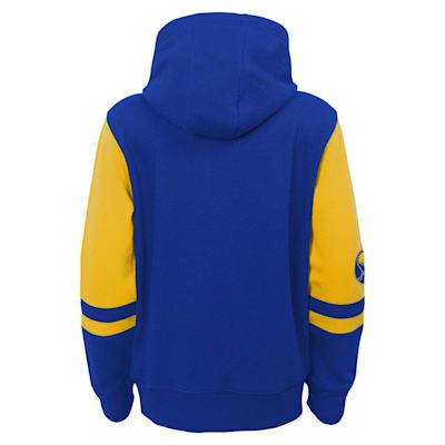 (Adidas Faceoff FZ Fleece Hoodie - Buffalo Sabres - Youth)
