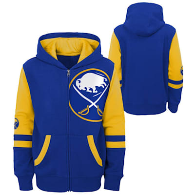 (Outerstuff Faceoff FZ Fleece Hoodie - Buffalo Sabres - Youth)