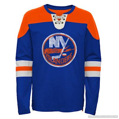 (Adidas Goaltender LS Top - New York Islanders - Youth)