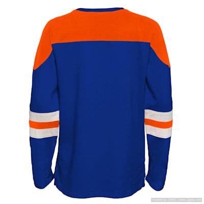 (Outerstuff Goaltender LS Top - New York Islanders - Youth)