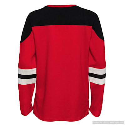(Outerstuff Goaltender LS Top - Detroit Red Wings - Youth)
