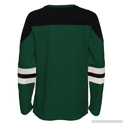 (Adidas Goaltender LS Top - Minnesota Wild - Youth)