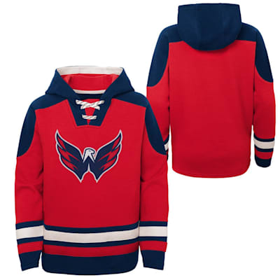 (Adidas Ageless Must Have Pullover Hoody - Washington Capitals - Youth)