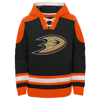 (Adidas Ageless Must Have Pullover Hoody - Anaheim Ducks - Youth)