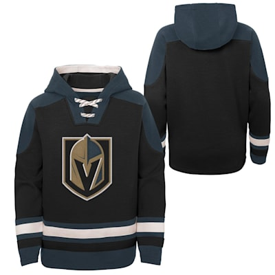 (Adidas Ageless Must Have Pullover Hoody - Vegas Golden Knights - Youth)