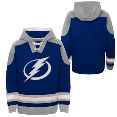(Adidas Ageless Must Have Pullover Hoody - Tampa Bay Lightning - Youth)
