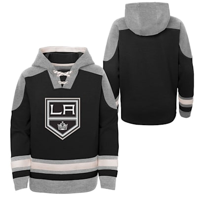 (Adidas Ageless Must Have Pullover Hoody - Los Angeles Kings - Youth)