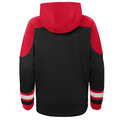 (Adidas Ageless Must Have Pullover Hoody - New Jersey Devils - Youth)