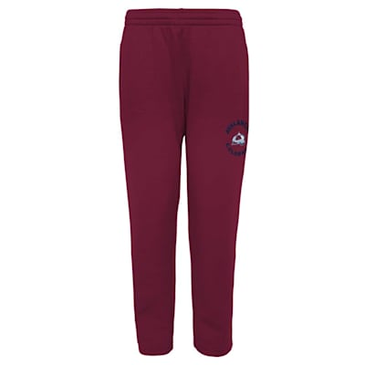 (Outerstuff Enforcer Fleece Sweatpant - Colorado Avalanche - Youth)