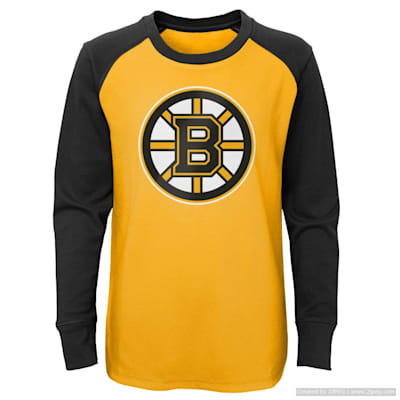 (Adidas Undisputed Long Sleeve Crew Tee - Boston Bruins - Youth)